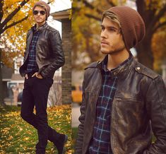 Viparo Jacket, American Apparel Flannel, Beanie
