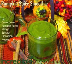 Pumpkin Spice Green Smoothie
