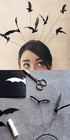 DIY: Bat headband