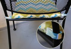 DIY Chair Cushions | Lovely Indeed.  Finally!  The tut I spent so long search for.