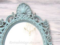 Shabby Chic Mirror For Sale FRENCH COUNTRY Home by RevivedVintage, $159.00