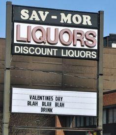 blah to valentine's day