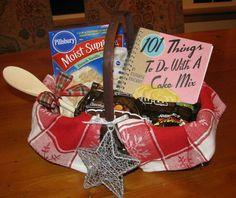 Gift / raffle basket idea... baking