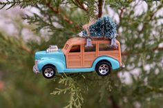 Toy Car Ornament