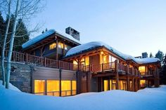 The loftier the dream home, the deeper the snowpack?