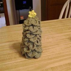Christmas Tree made with Crocodile Stitch - Media - Crochet Me