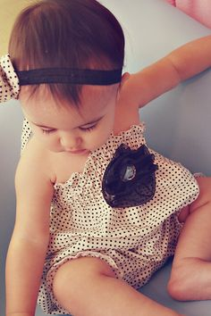 polkadot romper - Bought for Leyton and love love love it!