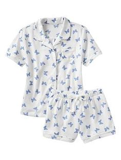 Printed classic PJ short set | Gap