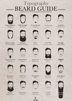 What font is your beard?