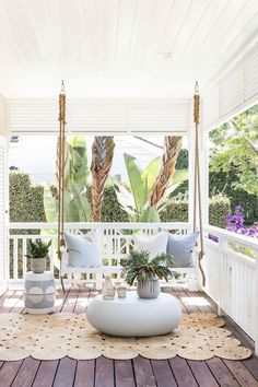 4 Easy Ways To Make Over Your Screened Porch for Spring
