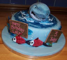 shark cake by Foxdale Cakes, via Flickr