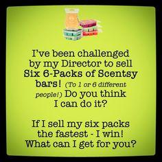 Scentsy challenge!!! jesshirst.scentsy.us