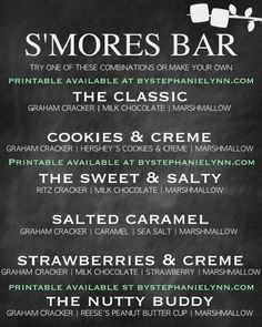 SMORES BAR PARTY PRI