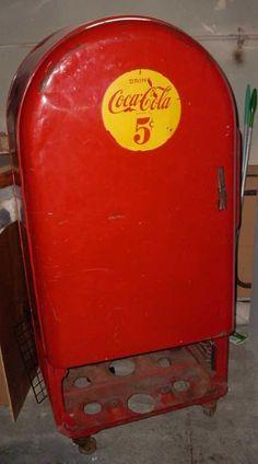 Vintage Coke Machine - Corvette Forum