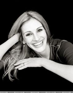 Julia Roberts: Her smile & laughter are contagious.