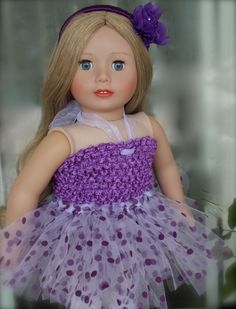 "Beautiful 18"" Doll Cadence Rose by Harmony Club Dolls www.harmonyclubdolls.com"