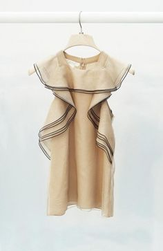 Chloé Ruffle Detail Blouse -