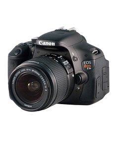 Canon Rebel T3I 18.7 Megapixel Digital SLR Camera Set on sale on #zulily for $479.99 (normally $600)