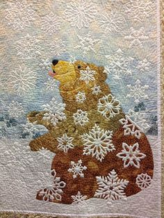 christmas cards, snowflake quilt, beautiful quilts, bear quilts, quilt symposium, nc quilting, beauti quilt, ann franci, 2013 beauti