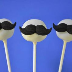 mustach cake, cakes, mustach bash, food, mustache cake pop