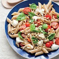 Healthy Italian Pasta Salad lunch recip, pasta salad, dash diet, italian pasta, noodle recipes, healthi food, healthi italian, pastas, salads