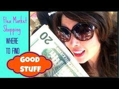 ▶ Flea Market shopping adventure at Kobey's Swapmeet! help me decide what to do with my items! - YouTube with Debi Beard #ThursDIY
