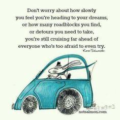 Keep cruising ahead