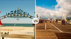 Vacation Faceoff: Ocean City, MD v. Ocean City, NJ