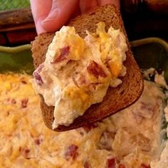 Try this yummy Reuben Dip with New York Style Bagel Crisps. Delicious! www.newyorkstyle.com #Yummy #Recipe #Dip