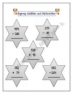 Regrouping Addition and Subtraction