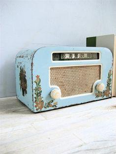 Vintage Motorola Radio by lovintagefinds on Etsy, $175.00