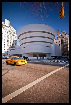 Guggenheim Museum - Frank Lloyd Wright