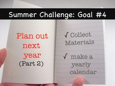How to plan out your ENTIRE school year!----- WOW- she makes is seem so easy! I definitely need to do this next year.