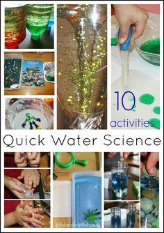 10 Quick Water Science Activities For Kids