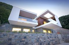 massimo nodari sets casa bertelli into the italian alps - designboom | architecture