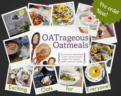 If you have already pre-ordered your copy please email a copy of your receipt to oatrageousoatmeals@gmail.com. Please make sure the subject ...