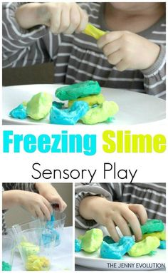 Frozen Slime Science