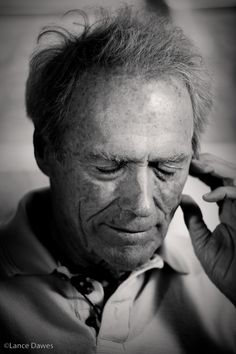 ♂ Black & white Clint Eastwood
