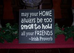 Your home - love this quote