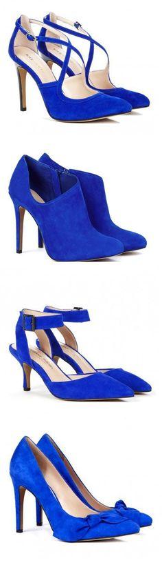 Cobalt Blue Heels.
