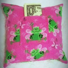 Girl Toothfairy Pillow at the Shopping Mall, $8.00 (USD)
