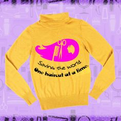 Sweater with message