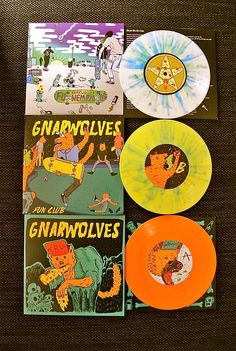 "GNARWOLVES - 7"" Collection"