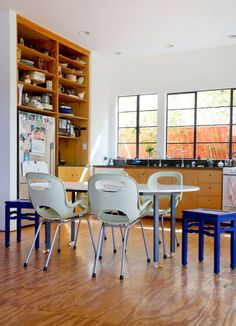 modern kitchen in venice, california