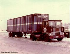 maislin white, maislin brother, white 7000, brother truck