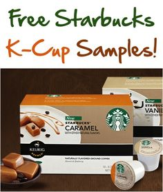 FREE Starbucks K-Cup Samples!