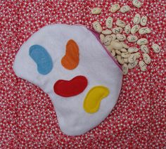 A Felt Bean Bag For Alphabeans Alphabet Game