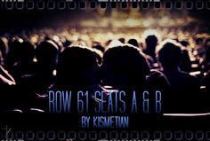 Row 61 Seats A & B b