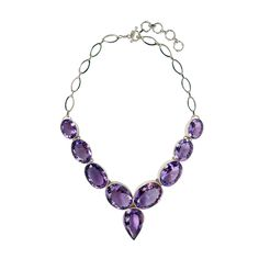 "Amethyst ""Prometheus"" Necklace - Plukka - Fine Jewelry"