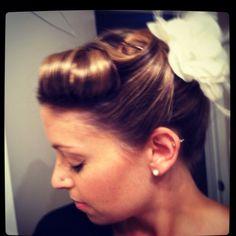 Pin up hair my-style